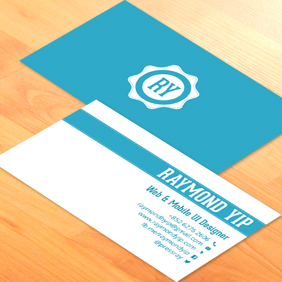 19 awesome business card designs for inspiration in saudi arabia source reheart Gallery