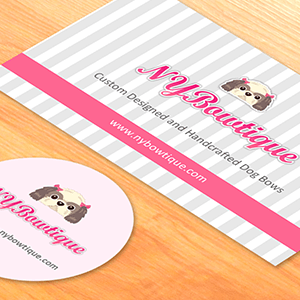 Brand Design for NYBowtique.com