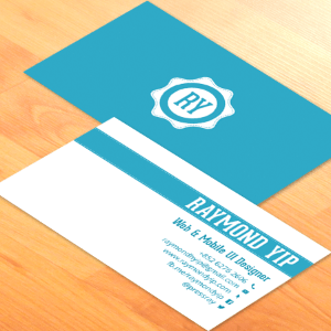 Business Card Design for Raymond Yip