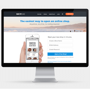 Shopline Website Redesign